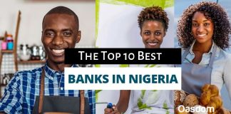 List of top 10 banks in Nigeria