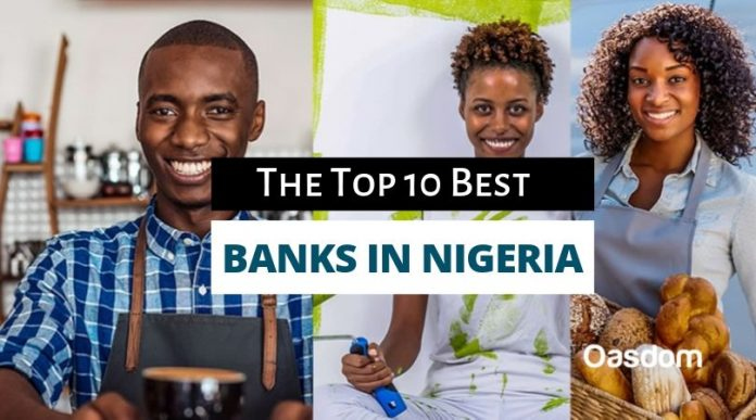 Oasdom List of top 10 banks in Nigeria