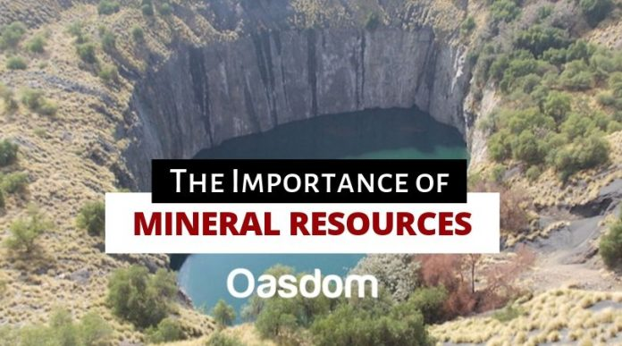 The importance of mineral resources extraction