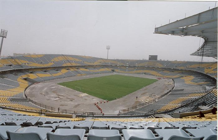 Borg El Arab Stadium in Egypt