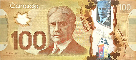 Canadian dollar currency
