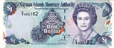 Cayman Islands Dollar currency