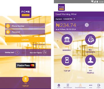 FCMB internet banking app