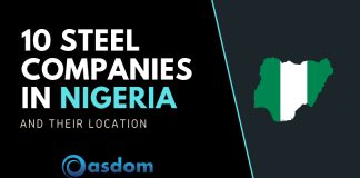 List of top 10 steel companies in Nigeria