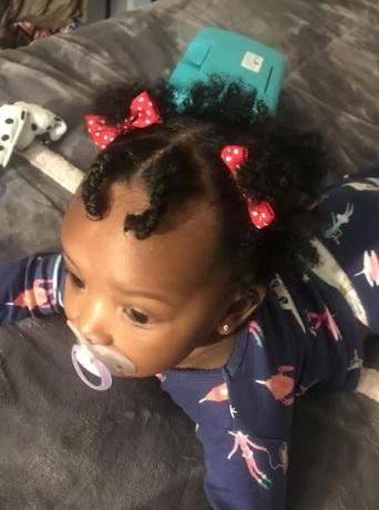 Nigerian babies hair - angle packing