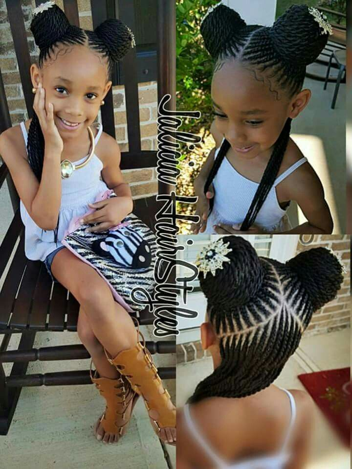 Nigerian baby girl hairstyles for parties