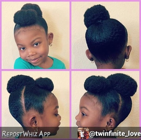 Nigerian children hair styles for a party