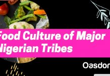 Nigerian food culture of major tribes in Nigeria