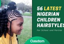 Latest Nigerian children hairstyles for schools and parties