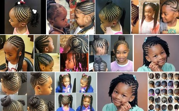 Photos and Pictures of Nigerian children hairstyles