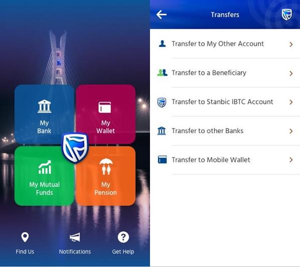 STanbic mobile banking