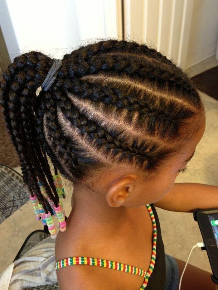 Shuku hairstyles for Nigerian kids