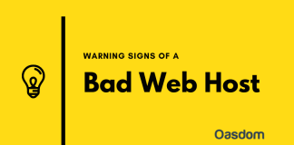 Warning signs of a bad web hosting company