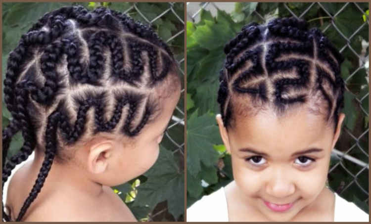 Zig zag all back Hairstyle Ideas