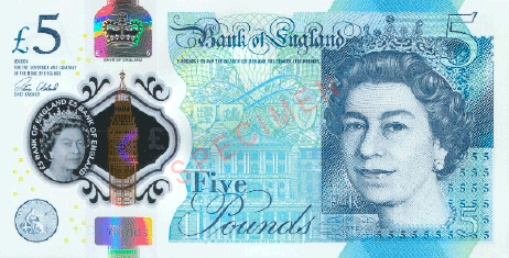 bank of England currency