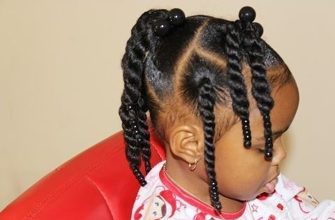 beautiful baby hairstyle in Nigeria