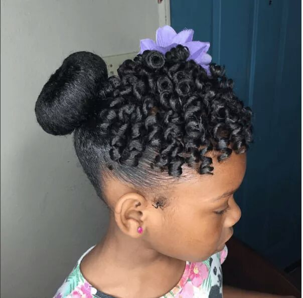 party hairstyle for Nigerian children
