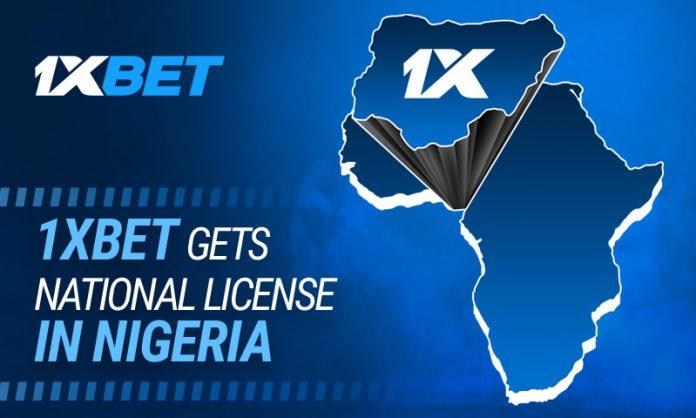 1xbet nigeria license