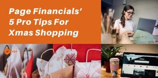 Page financials pro tips for Christmas shopping