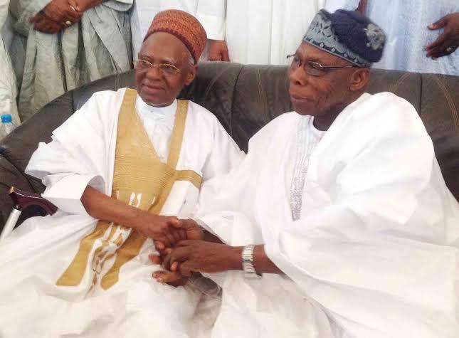 Shehu Shagari and Obasanjo