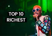 Latest list of top 10 richest musician in Nigeria