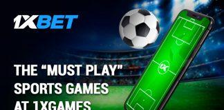 Play Sports Games at 1xGames