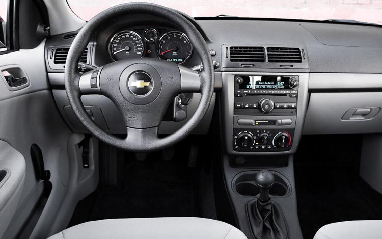 interior of cobalt 2020 Chevrolet