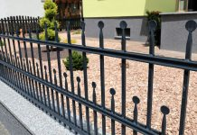 Aluminum Fencing security
