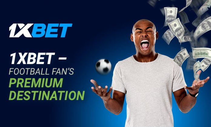Football at its best 1xbet