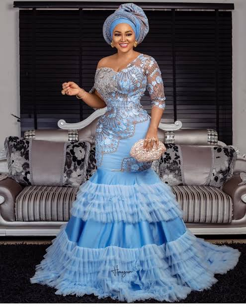 Beautiful wedding lace design