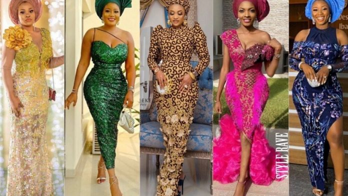 Latest Nigerian lace styles and designs for ladies and men