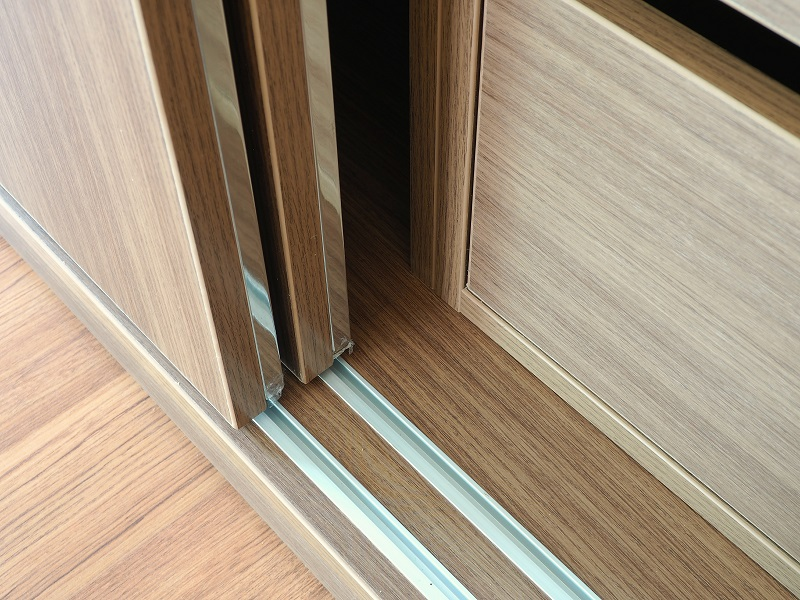 Materials used for making sliding cupboards