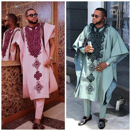 Men's lace styles for wedding occasion