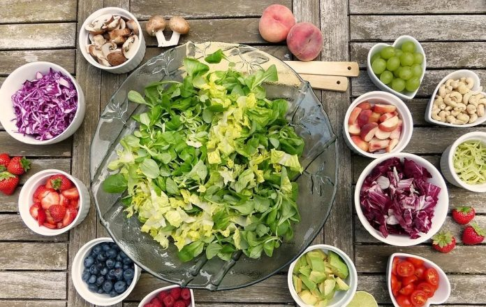 Healthy food for stron immune system