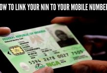 HOW TO LINK YOUR NIN TO YOUR MOBILE NUMBER