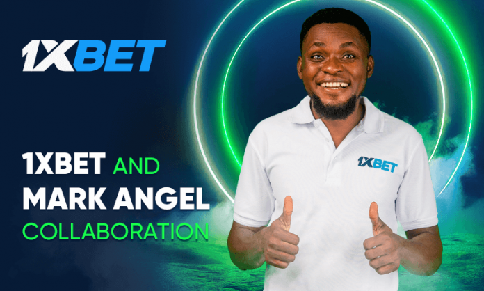 Mark Angel and 1xbet collaboration
